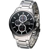 SEIKO 精工 SOLAR 運動風計時腕錶 V172-0AR0D   SSC255P1