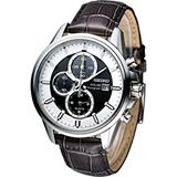 SEIKO 精工 SOLAR 運動風計時腕錶 V172-0AR0J SSC259P1