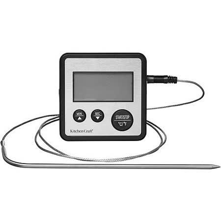 《KitchenCraft》探針溫度計時器
