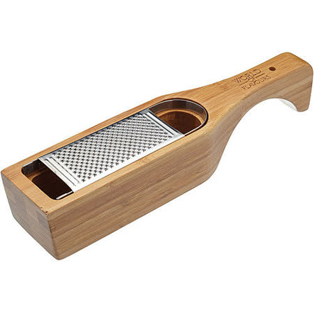 《KitchenCraft》竹收納盒刨刀