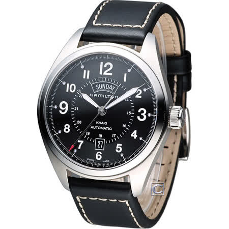 漢米爾頓 Hamilton Khaki  Day Date 野戰軍用風格自動機械錶 H70505733