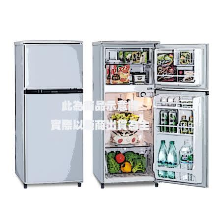 『Panasonic』☆國際牌 130L雙門電冰箱 NR-B138T/NR-B138T-SL