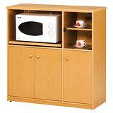 《顛覆設計》潮濕剋星~防水塑鋼3.3尺電器櫃(三色可選)