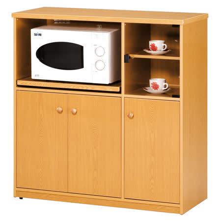 《顛覆設計》潮濕剋星-防水塑鋼3.3尺電器收納櫃(四色可選)