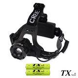 【特林TX】美國CREE Q5 LED多段式旋轉變焦頭燈(HDQ5-80)