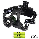 【特林TX】美國CREE T6 LED多段式旋轉變焦頭燈(HDT6-100)