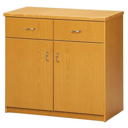 《顛覆設計》潮濕剋星~防水塑鋼2.8尺餐櫃/碗碟櫃(四色可選)