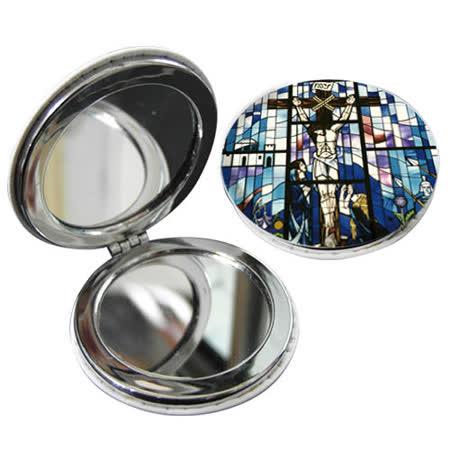 JB Design 隨身圓鏡-耶穌十字架