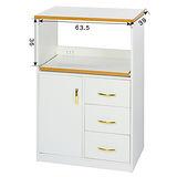 《顛覆設計》潮濕剋星~防水塑鋼2.2尺餐櫃/電器櫃
