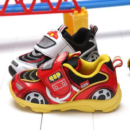 【童鞋城堡】Tomica小童多美汽車造型電燈運動鞋TM6903