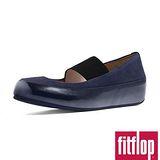 (預購)FitFlop™-(女款)Dué™ M-J BALLERINA (NUBUCK) -海軍藍