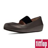 FitFlop™-(女款)Dué™ M-J BALLERINA (LEATHER) -鐵灰