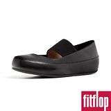 FitFlop™-(女款)Dué™ M-J BALLERINA (LEATHER) -靚黑