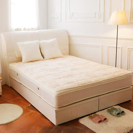 TOTOMI 抗菌防蹣包覆式三線獨立筒7尺雙人特大床墊