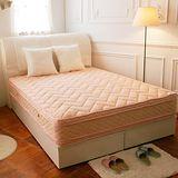 TOTOMI 暖感乳膠包覆式四線獨立筒4尺單人加大床墊