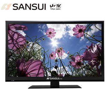 SANSUI山水 40吋多媒體FHD LED液晶顯示器+數位視訊盒 SLHD-J02/01