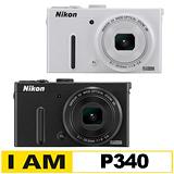 Nikon COOLPIX P340 大光圈WiFi機(公司貨)-送16G記憶卡+清保組+讀卡機+桌上型小腳架★9/30前上網登錄送原廠電池