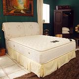 TOTOMI 防蹣紓眠正三線獨立筒7尺雙人特大床墊