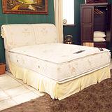 TOTOMI 飯店用正四線舒柔蜂巢式獨立筒7尺雙人特大床墊