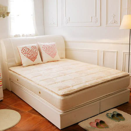 TOTOMI 透氣抗菌正四線獨立筒4尺單人加大床墊
