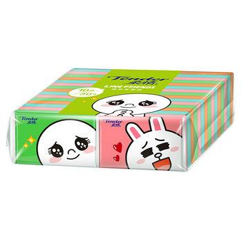 柔情袖珍包面紙-LINE授權包裝10抽*30包