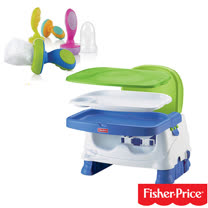 費雪牌 Fisher-Price寶寶小餐椅+Nuby 營養蔬果棒 (10個月以上)