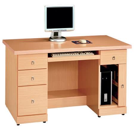 HAPPYHOME 西雅圖白橡4.2尺電腦桌195-960