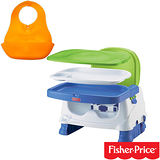 費雪牌 Fisher-Price寶寶小餐椅+Tommee Tippee軟式防水圍兜