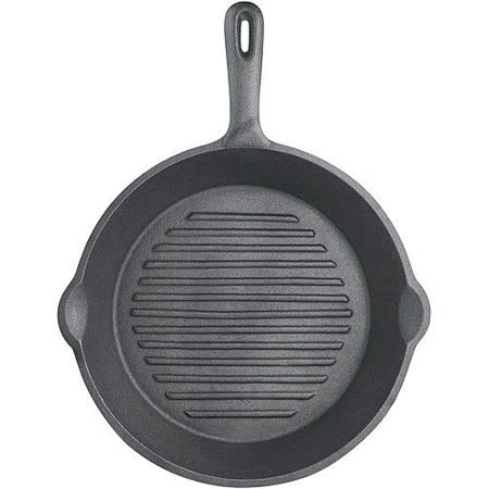 【網購】gohappy 線上快樂購《KitchenCraft》鑄鐵煎烤盤(圓凸紋)好嗎板橋 遠 百