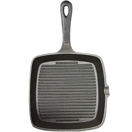 【真心勸敗】gohappy快樂購物網《KitchenCraft》鑄鐵煎烤盤(方凸紋)評價如何台中 遠 百