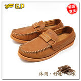【G.P】阿亮嚴選-秋冬男款- 休閒皮鞋P9427-31(棕色)共二色