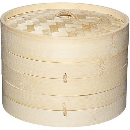 【好物推薦】gohappy快樂購《KitchenCraft》雙層竹編蒸籠(20cm)好用嗎愛 買 打工
