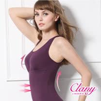 【可蘭霓Clany】Tactel 輕機塑身M-Q(2XL)美體衣 華麗紫 1929-93