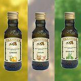 嚴選食材/義大利西西里原裝法蘭托雅初榨綜合香味橄欖油組合(大蒜+羅勒+檸檬)
