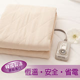 韓國製造.可水洗電熱毯.恆溫七段式微調.單人床鋪式電毯