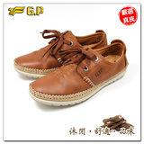 【G.P】阿亮嚴選-秋冬男款-紳士休閒皮鞋P9433-31(棕色)共二色