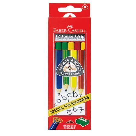 【輝柏 FABER-Castell】116527大三角鉛筆 (12支/盒)