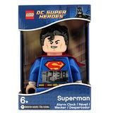 【樂高積木 LEGO】樂高鬧鐘-超級英雄超人
