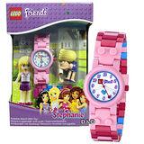 【樂高積木 LEGO】兒童手錶-姐妹淘FRIENDS史蒂芬妮