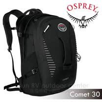 【美國 OSPREY】新款 Comet 30 日用系後背包/輕量多功能背包.24/Seven.電腦筆電背包_ 黑