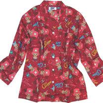 【波克貓哈日網】休閒居家服睡衣◇航海王海賊王◇酒紅色《上衣+長褲》