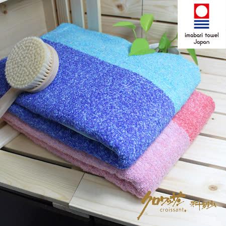 【クロワッサン科羅沙】日本毛巾~今治生產 CR花物語A 浴巾 72*140CM
