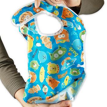 美國Bumkins防水兒童圍兜-彩色緞帶 BKS-760