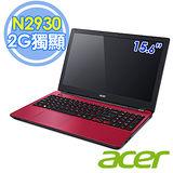 Acer E5-511G 15.6吋 N2940 四核 2G獨顯 Win8.1 筆電(紅色)–送外接式DVD燒錄機