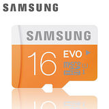samsung三星 16GB【EVO】Ultra-fast microSDHC 記憶卡