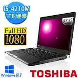 TOSHIBA R30-A-00J002 13.3吋 i5-4210M WIN8.1 FHD高畫質輕薄筆電(黑)【贈原廠筆電包+原廠滑鼠】