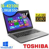 TOSHIBA Z30-A-00U004 13.3吋 第四代 i5-4210U 128GSSD 日系輕薄美型FHD高畫質★三年保固【贈原廠筆電包+原廠光學滑鼠】
