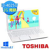 TOSHIBA L50-B-0D5012 15.6吋 第四代i3-4025U 2G獨顯 極致輕薄雪白機【贈原廠筆電包+原廠滑鼠+4G記憶體】