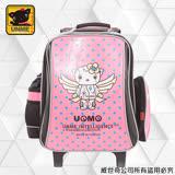 【UNME】 台灣製兒童拉桿書包 (亮面粉紅3308D)