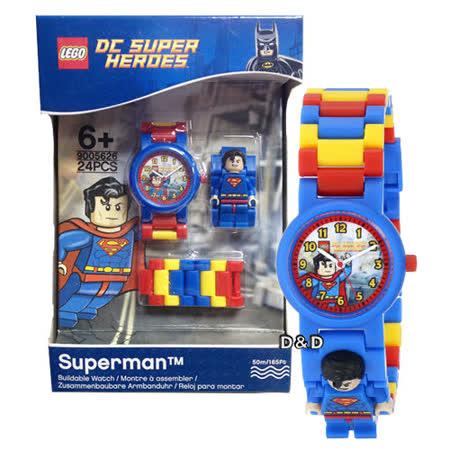 【樂高積木 LEGO】兒童手錶-超級英雄超人